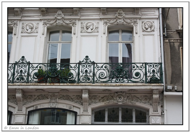 Windows and Doorways of Boulogne France 8