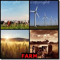 FARM- 4 Pics 1 Word Answers 3 Letters