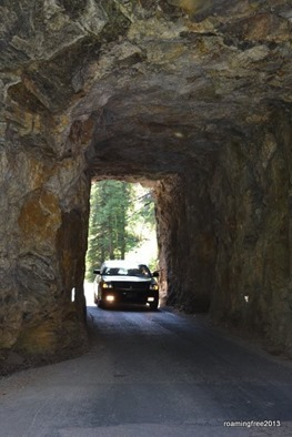 Tunnel on the Needles Highway