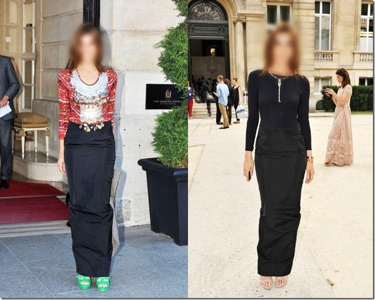 Carine Roitfeld Arrivals Versace Couture SJvVgaETNaml-horz