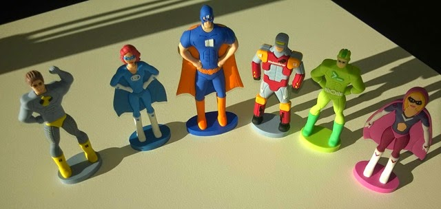 MVC Hero Figurines