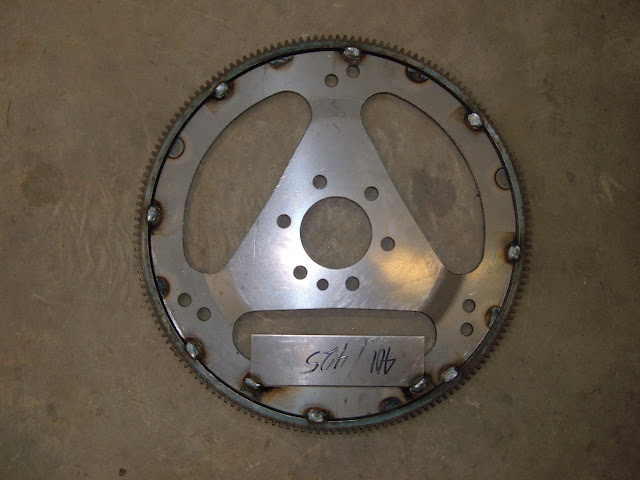 New flexplates for 1964-66 401-425's also custom flexplates for 1957-63 364-401-425's. 185.00