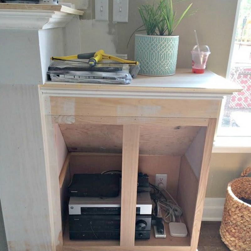 Built ins for the electronics
