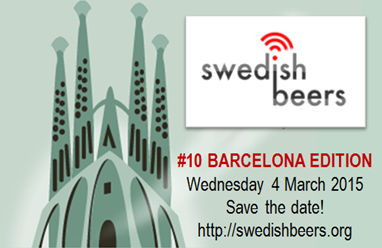 Swedish Beers 10th birthday in Barcelona