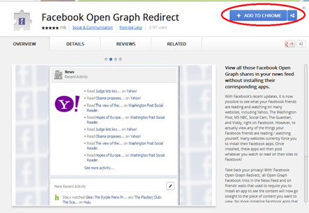 facebook open redirect