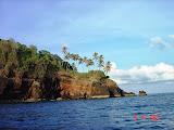 The cliffs of Manuk island (Nick Hughes, November 2007)