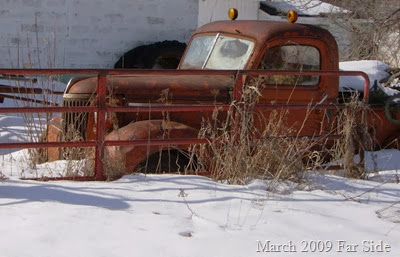 Old truck March 2009