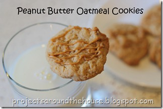 peanut butter oatmeal cookie title