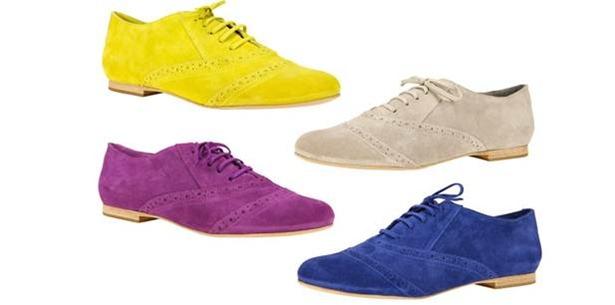 Sapatos masculinos coloridos
