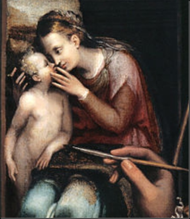 Sofonisba-Anguissola-Autorretrato-detail