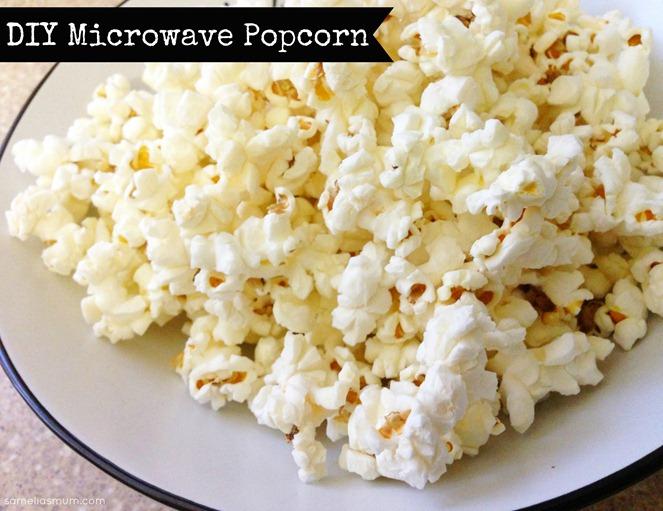 Easy Microwave Popcorn @ SameliasMum