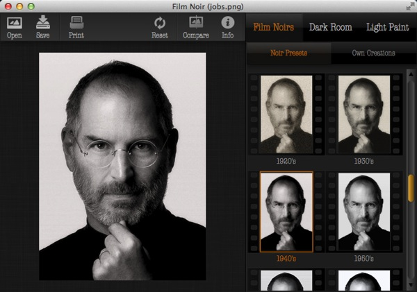 Mac app photography film noir1