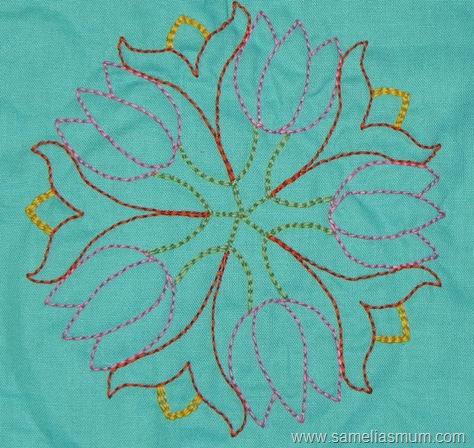 Floral Stitchery