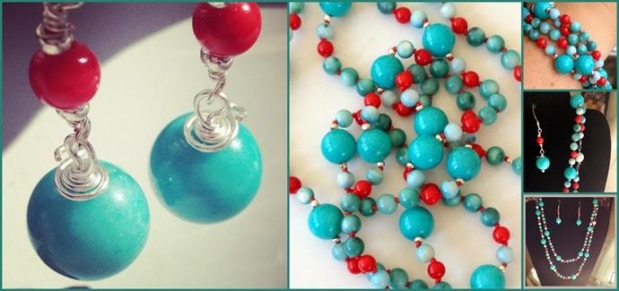 Turquoise knotting