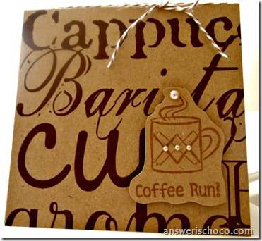 Coffee Run Card