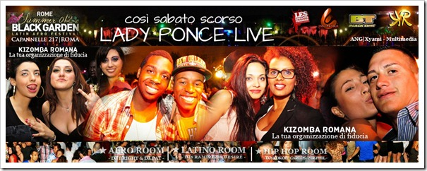 "Lista ""KIZOMBA ROMANA"" - BLACK GARDEN - SUMMERTIME 2012"