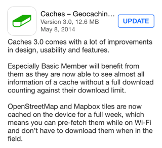 Caches version 3.0