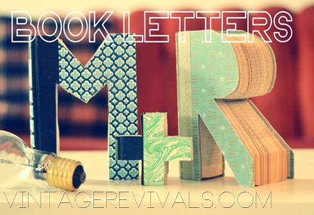 Book Letters Tutorial