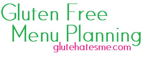 GF menu planning