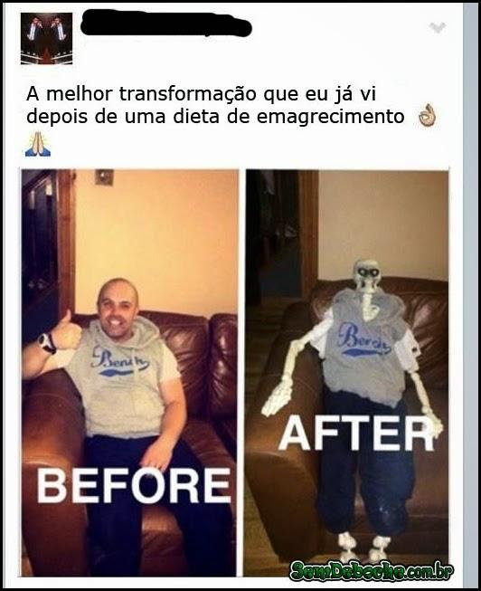 A MELHOR TRANSFORMAÇÃO DE EMAGRECIMENTO DO MUNDO!