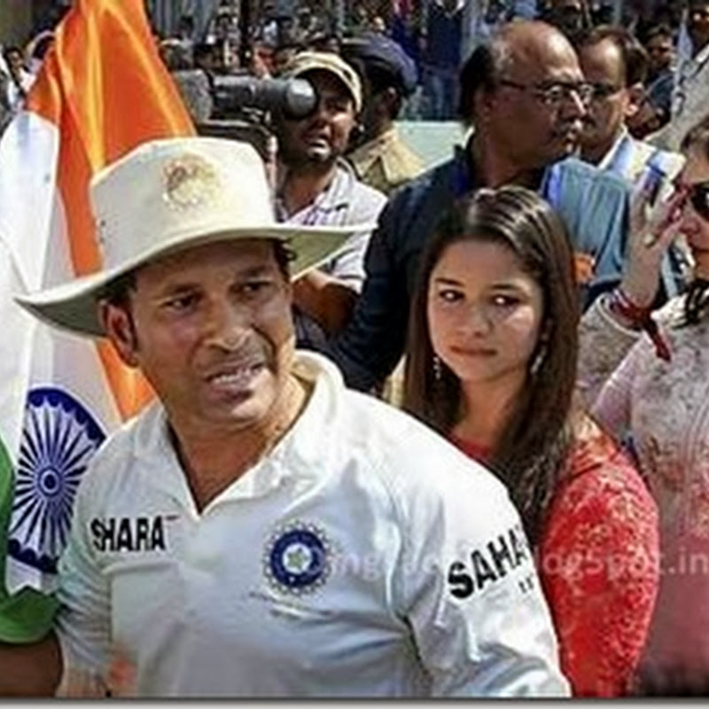 VIDEO : Sachin Tendulkar's Emotional Speech after his Retirement
