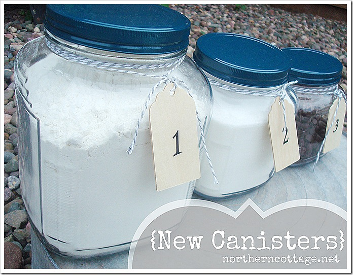 northern cottage new canisters