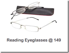 Buy Reading Eyeglasses at Rs. 149 – By Mexican Readers at Rs. 149 only