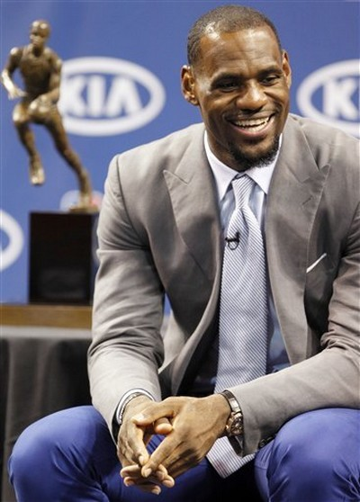 LeBron James Wins Third Most Valuable Player Award