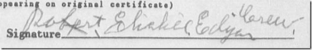 Robert Crew signature 2