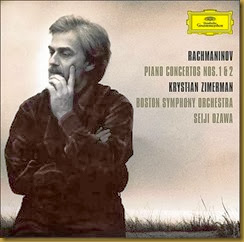 Rachmaninov Conciertos piano 1 2 Zimerman Ozawa