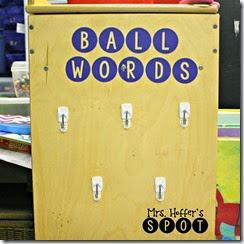 ball words