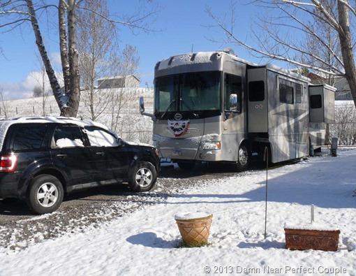 Snow in Missoula