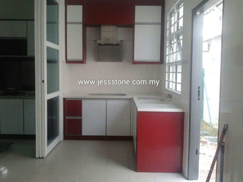 Solid top sdn bhd malaysia kitchen cabinet quartz stone for Kitchen ideas malaysia