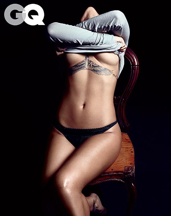 Rihanna GQ December 2012
