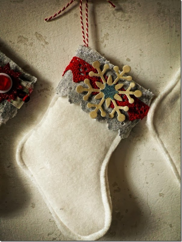 cafe creativo - Anna Drai - sizzix big shot - stocking christmas (3)