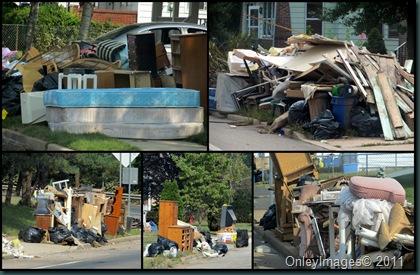 damage collage