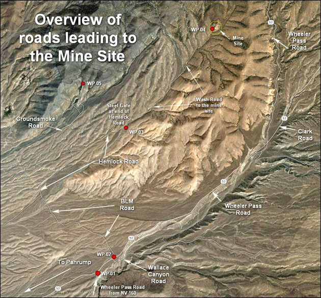 BLM-Hemlock Rd to Mine Site
