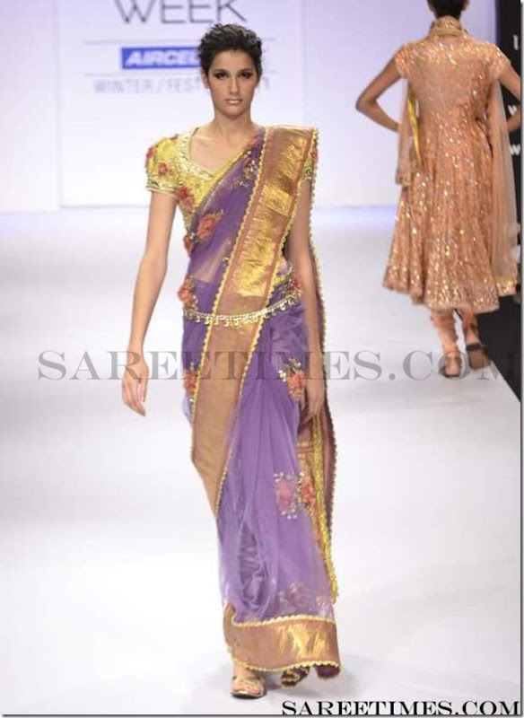 Preeti_S_Kumar_Purple_Saree