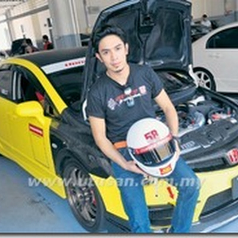 iqram dinzly berhabis demi kereta