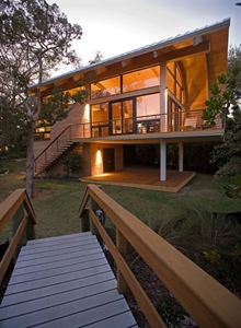 estructutra-madera-casey-key-guest-house