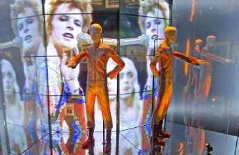 Imagen Video : Londres dedica exposicin a David Bowie
