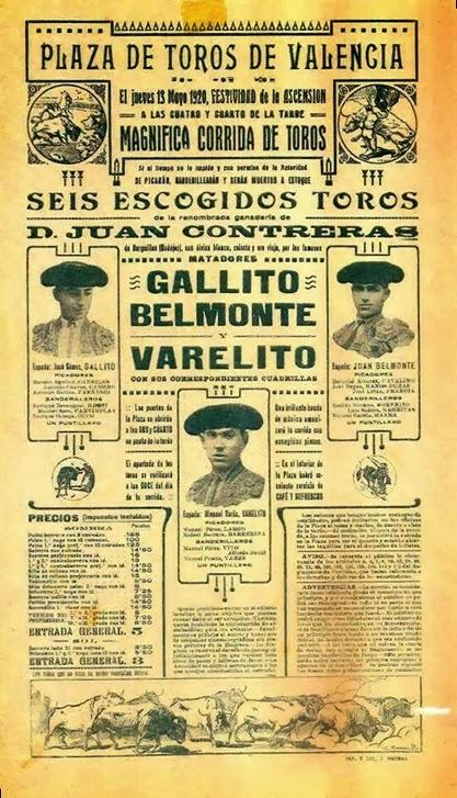 1920-05-13 Valencia Joselito Belmonte Varelito (retocado)