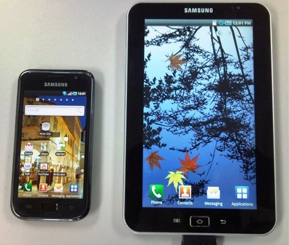 Samsung Galaxy Tab and Samsung Galaxy S
