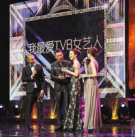 TVB AWARDS 2013 Starhub Tavia Yeung Hin Law boyfriend My Favourite TVB Actress Female Character awards Silver Spoon, Sterling Shackles Michael Miu Elaine Yiu King Kong Linda Chung Bosco Wong Raymond Lam Niki Chow Myolie Wu MBS