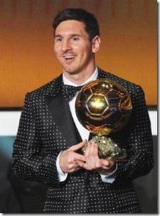 balonul de aur 2012-messi