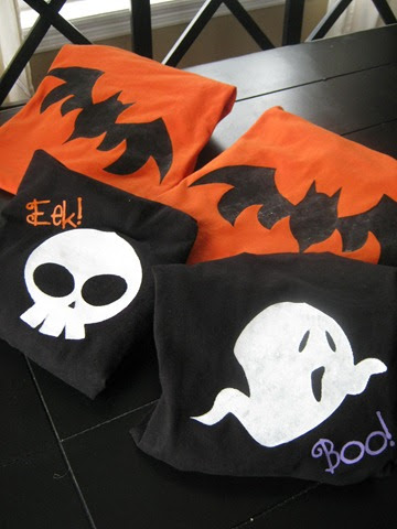 ginger snap crafts fa boo lous friday halloween t shirt tutorial features link up. Black Bedroom Furniture Sets. Home Design Ideas