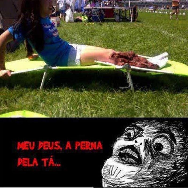 OLHA A PERNA DELA!!!!!