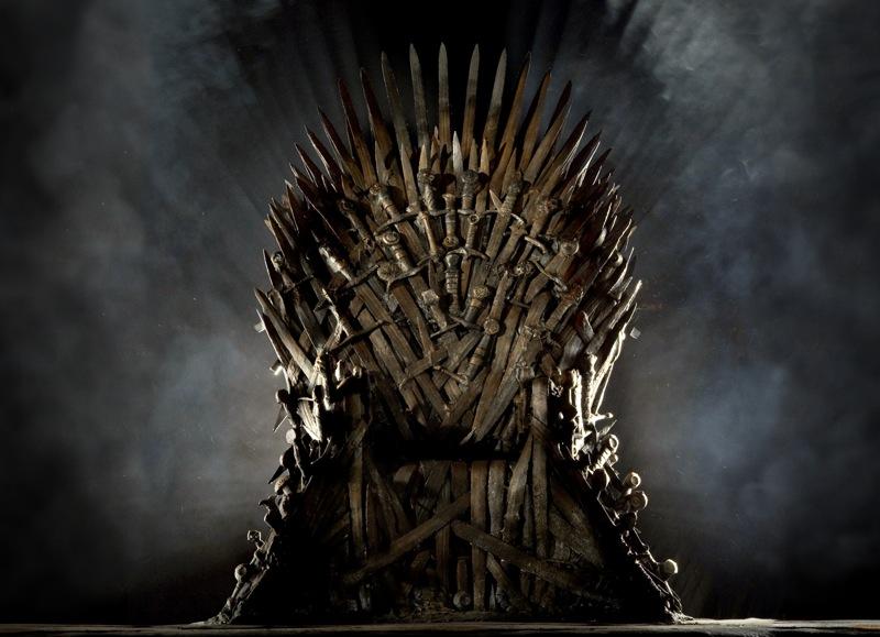 Wallpaper iron throne 1600