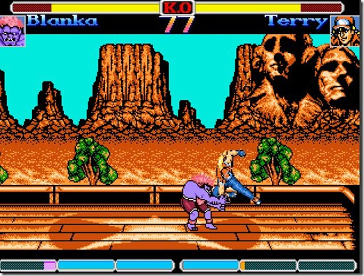 Super Street Fighter 2 NES fan game (3)