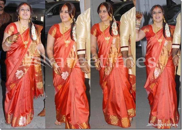 pooja gandi in traditional saree sareetimes